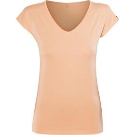 Haglöfs Camp Naiset Lyhythihainen paita , keltainen/oranssi